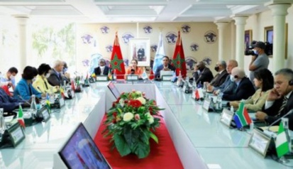Moroccan Association for Victims' Rights Meets with Members of Diplomatic Corps Accredited to Kingdom
